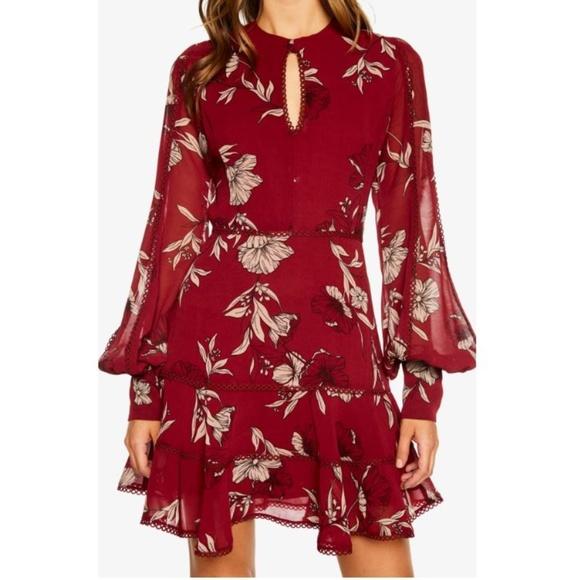 Bardot Dresses & Skirts - [bardot] tammy trimmed floral dress